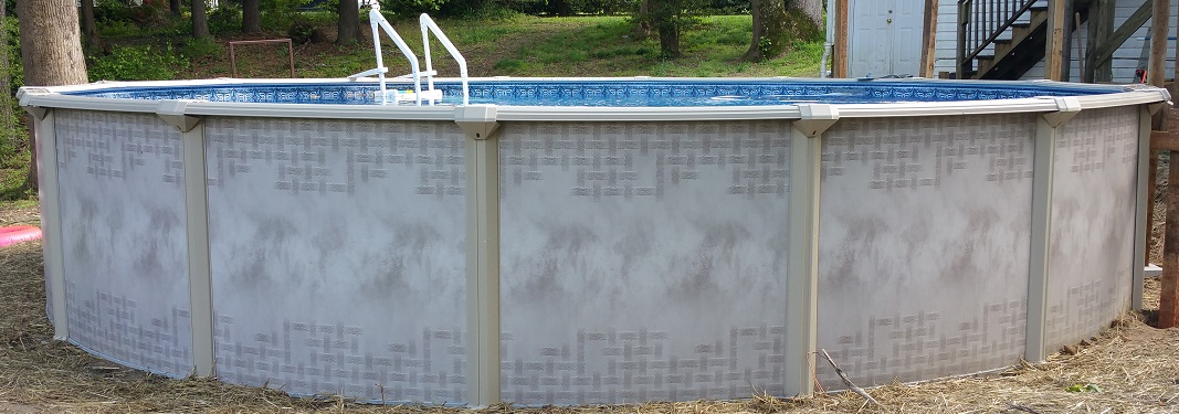 Above ground pool prices image of cheap in ground pool for Top of the line above ground pools